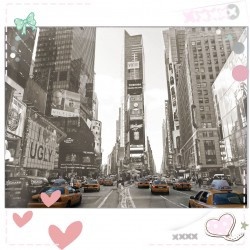 Feuille A4 - Time square